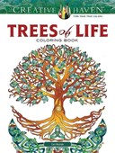 Creative Haven Trees of Life Coloring Book