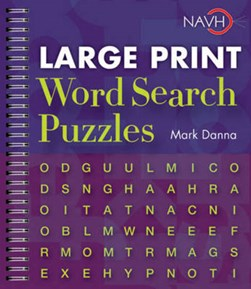 Large Print Word Search Puzzles by Mark Danna