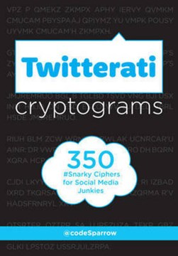 Twitterati cryptograms by @codeSparrow
