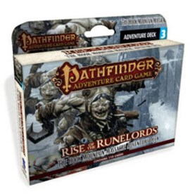 Pathfinder Adventure Card Game: Rise of the Runelords Deck 3 - The Hook Mountain Massacre Adventure by Mike Selinker