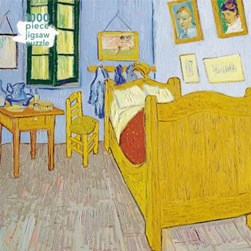 Adult Jigsaw Puzzle Vincent van Gogh: Bedroom at Arles by Flame Tree Studio