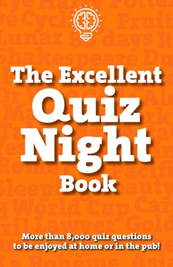 The excellent quiz night book by Carlton Publishing