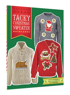 Tacky Christmas Sweater Notecards by Chronicle Books