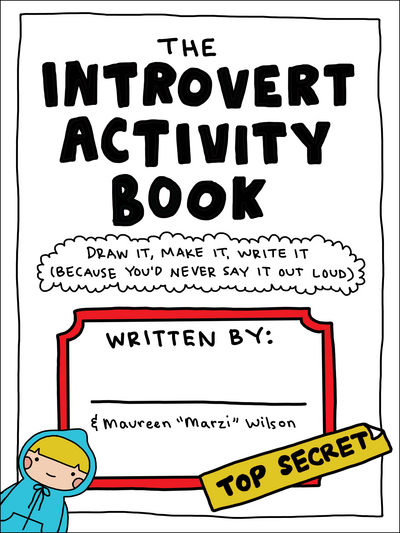 Image result for The Introvert Activity Book