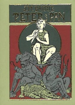 Peter Pan Minibook - Limited gilt-edged edition by James M Barrie