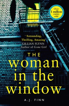 Book Cover of The Women in the Window by A.J Finn