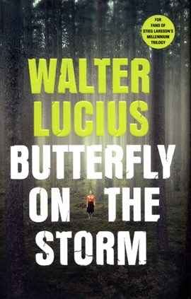 Butterfly on the storm by Walter Lucius