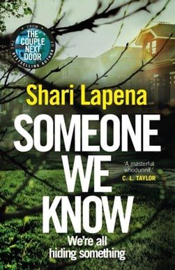 Someone we know by Shari Lapeña
