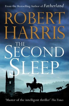 Book cover of The Second Sleep by Robert Harris