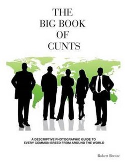 The Big Book of Cunts by Robert Breeze
