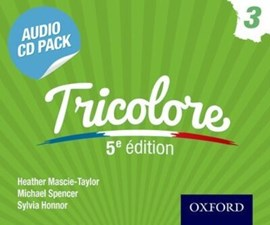 Tricolore. Audio CD pack 3 by Heather Mascie-Taylor