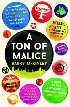 A Ton Of Malice P/B by Barry McKinley