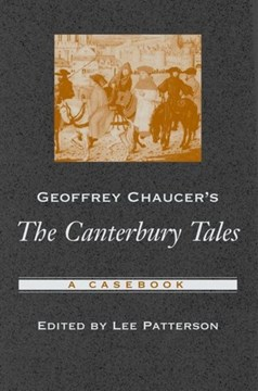 Geoffrey Chaucer's The Canterbury tales by Lee Patterson