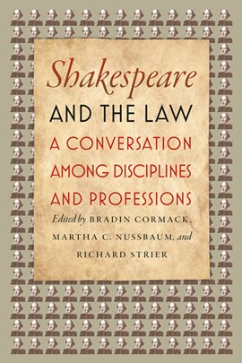 Shakespeare and the law by Bradin Cormack