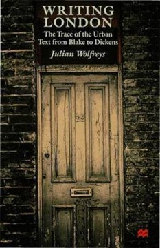 Writing London by J. Wolfreys