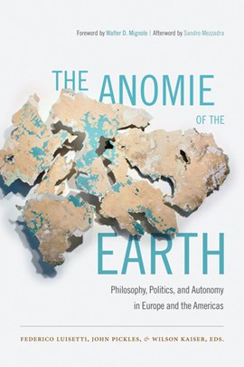 The anomie of the earth by Federico Luisetti
