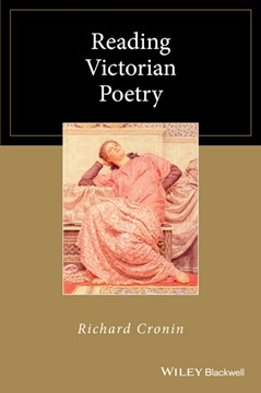 Reading Victorian poetry by Richard Cronin