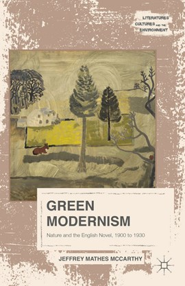 Green modernism by Jeffrey Mathes McCarthy