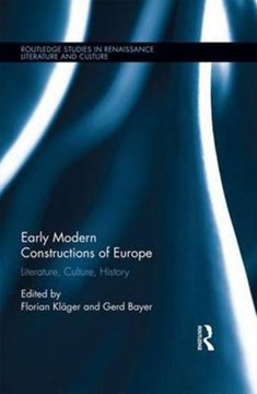 Early modern constructions of Europe by Florian Kläger