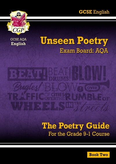New Grade 9-1 GCSE English Literature AQA Unseen Poetry Guide - Book 2