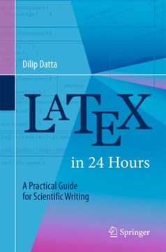 Latex in 24 hours by Dilip Datta