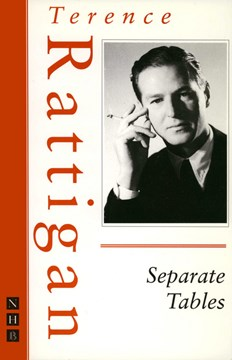 Separate tables by Terence Rattigan