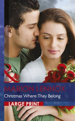 Christmas where they belong by Marion Lennox