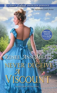 Never deceive a viscount by Renee Ann Miller