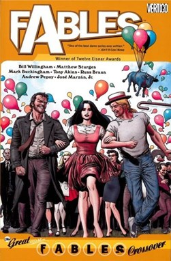 The great Fables crossover by Bill Willingham