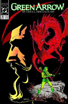 Green Arrow. Volume 4 Blood of the dragon by Mike Grell