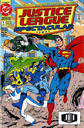 Superman and Justice League America. Volume 1 by Dan Jurgens