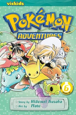 #Pokemon Adventures 6 P/B by Hidenori Kusaka