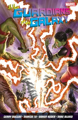 All-new Guardians of the galaxy in infinity quest by Gerry Duggan