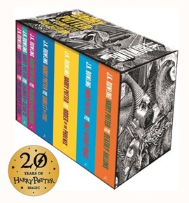 Harry Potter Boxed Set: The Complete Collection (Adult Paperback) by J.K. Rowling