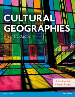 Cultural geographies by John Horton