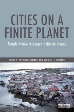Cities on a finite planet by Sheridan Bartlett