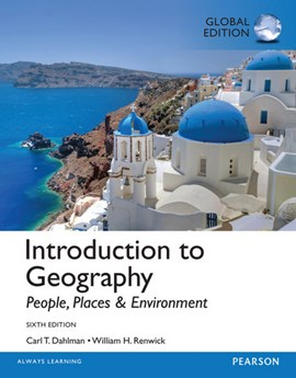 Introduction to geography by Carl, H. Dahlman