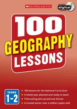100 geography lessons Years 1-2 by Linda Pickwell