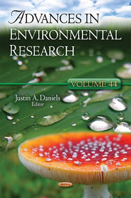 Advances in environmental research. Volume 44 by Justin A Daniels