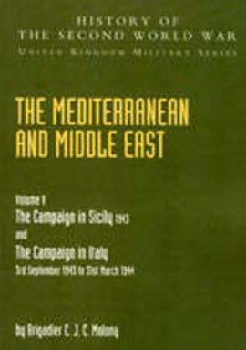Mediterranean and Middle East Volume V by Brigadier C J C Molony