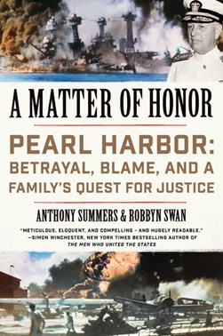 A matter of honor by Anthony Summers