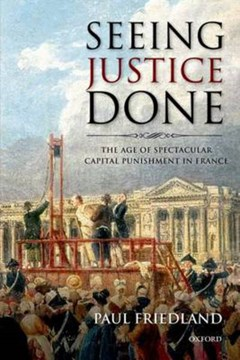 Seeing justice done by Paul Friedland