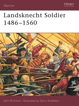 Landsknecht soldier by John Richards