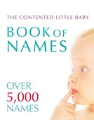 The contented little baby book of names