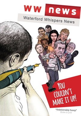 Waterford Whispers Breaking News  P/B by Colm Williamson