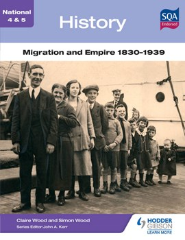 Migration and empire 1830-1939 by Simon Wood