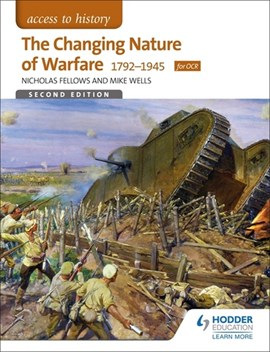 The changing nature of warfare 1792-1991 by Mike Wells