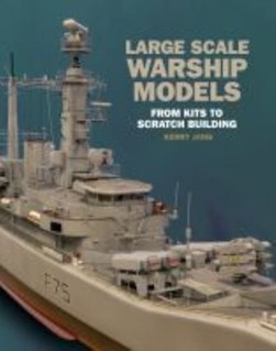 Large scale warship models by Kerry L Jang