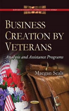 Business creation by veterans by Maegan Seals
