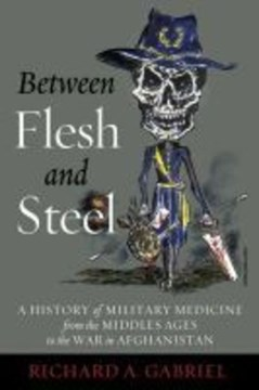 Between flesh and steel by Richard A. Gabriel